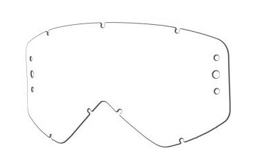 344e76ad12d8f Smith Optics Sonic Dual Airflow Goggle Replacement Lens - Clear