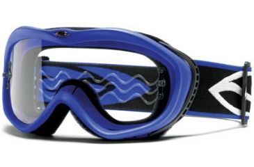 Smith Optics Sonic Goggles - Blue frame, Clear lens