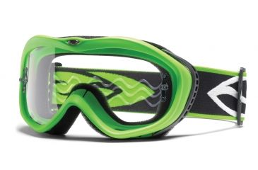 Smith Optics Sonic Goggles - Green frame, Clear lens