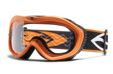 Smith Optics Sonic Goggles - Orange frame, Clear lens