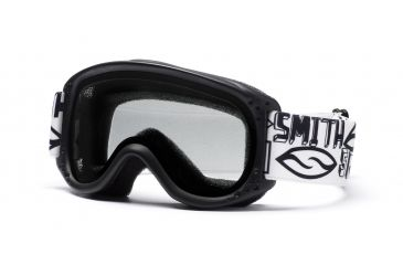 Smith Optics Sundance Kid Snow Goggles - Black Frame, Clear SK2CBK10