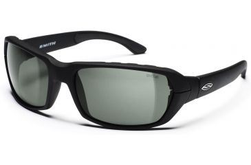 Smith Optics Trace Sunglasses with Matte Black Evolve frames and Gray lenses