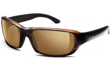 Smith Optics Trace Sunglasses with Wood Tortoise frames and Brown lenses