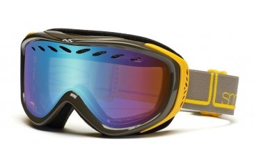 Smith Transit Pro Goggles, Yellow Foundation, Sensor Mirror TP3ZYF11