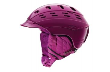 Smith Variant Brim Womens Helmet, Bright Plum Alpenglow, Large H12-VWPMLG
