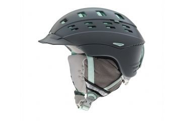 Smith Optics Variant Brim Womens Helmet, Charcoal Leila, Small H13-VWCLSM