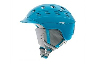 Smith Optics Variant Brim Womens Helmet, Light Blue Twist, Large H13-VWLBTLG