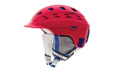 Smith Optics Variant Brim Womens Helmet, Neon Red Typepress, Large H13-VWNDTLG