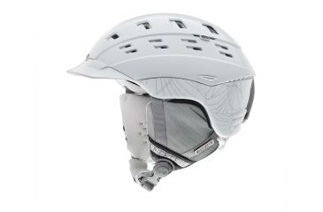 Smith Optics Variant Brim Womens Helmet, White Coven, Small H13-VWWCSM