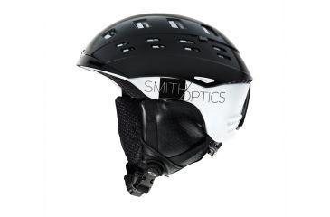 Smith Optics Variant Helmet, Black/White Wordpress, Medium H13-VRKWMD