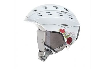 Smith Optics Variant Helmet, White Botanical, Large H13-VRWBLG