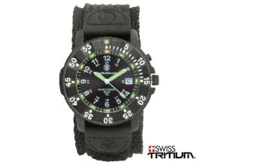 Smith & Wesson Tritium Watch H3 Nylon&rubber - SWW-450-BLK