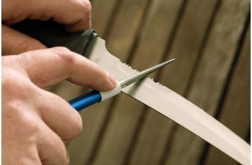 Smiths Sharpeners Diamond Retractable Sharpener, Blue/Gray DRET