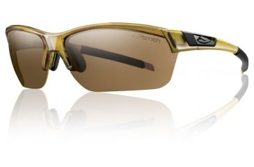 Smith Optics Approach Max Sunglasses - Whiskey Frame w/ Polarized Brown/Ignitor/Clear Lens APMPPBRWS
