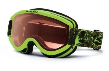 Smith Optics Challenger OTG Snow Goggles - Acid W3 Frame w/ RC36 Lens CH2EAW13