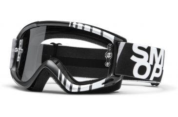 Smith Optics Fuel v.1 MX Goggles - Black Vert Frame w/ Clear Anti Fog Lens FV1CFKV13