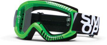 Smith Optics Fuel v.1 MX Goggles - Green Daze Frame w/ Clear Anti Fog Lens FV1CFGZ13
