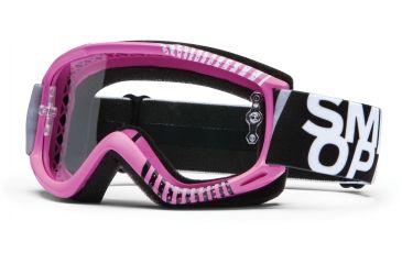 Smith Optics Fuel v.1 MX Goggles - Pink Daze Frame w/ Clear Anti Fog Lens FV1CFPZ13