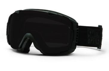 Smith Optics I/O Snow Goggles - Darkness Frame w/ Blackout and Red Sensor Lens IO7BKDK13
