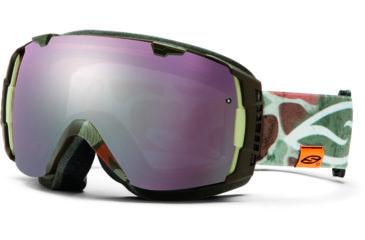 Smith Optics I/O Snow Goggles - Lago Duck Camo Frame w/ Ignitor and Red Sensor Lens IO7ILD13