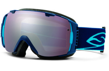 Smith Optics I/O Snow Goggles - Navy Frame w/ Ignitor and Blue Sensor Lens IO7INV13