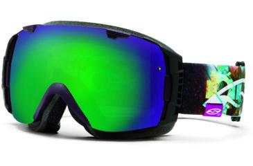 Smith Optics I/O Snow Goggles - Sage Chakana Frame w/ Green Sol X and Red Sensor Lens IO7NXSC13