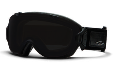 Smith Optics I/OS Snow Goggles - Black Danger Frame w/ Blackout and Red Sensor Lens IS7BKKD13