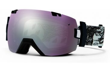 Smith Optics I/OX Snow Goggles - Abma Lifetree Frame w/ Ignitor and Red Sensor Lens IL7IAL13