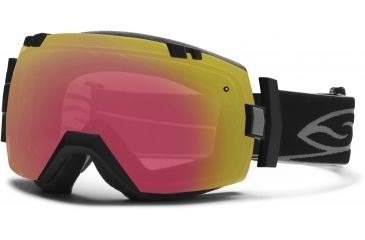 Smith Optics I/OX Snow Goggles - Black Frame w/ Red Sensor and Platinum Lens IL7RZBK13