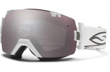 Smith Optics I/OX Snow Goggles - White Frame w/ Ignitor and Blue Sensor Lens IL7IWT13