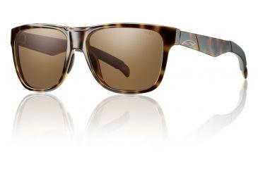 Smith Optics Lowdown Sunglasses - Tortoise Frame w/ Polarized Brown Lens LDPPBRTT