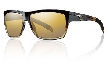 Smith Optics Mastermind Sunglasses - Black Olive Fade Frame w/ Polarized Gold Gradient Mirror Lens MMPPGDGBV