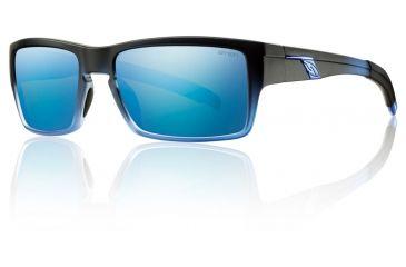 Smith Optics Outlier Sunglasses - Black N Blue Frame w/ Blue Sol-X Lens OUPCUGMBB