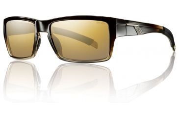 Smith Optics Outlier Sunglasses - Black Olive Fade Frame w/ Polarized Gold Gradient Mirror Lens OUPPGDGBV