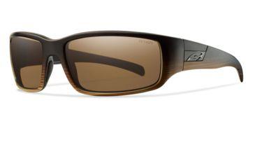 Smith Optics Prospect Sunglasses - Woodgrain Frame w/ Polarized Brown Lens POPPBRWG
