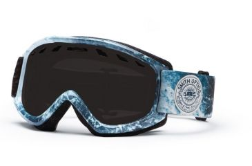 Smith Optics Sentry Snow Goggles - Steel Oceanic Frame w/ Blackout Lens SN4BKSO13
