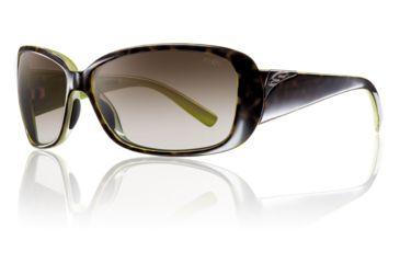 Smith Optics Womens Shorewood Sunglasses - Apple Tortoise Frame w/ Polarized Brown Gradient Lens SOPPBRGAT