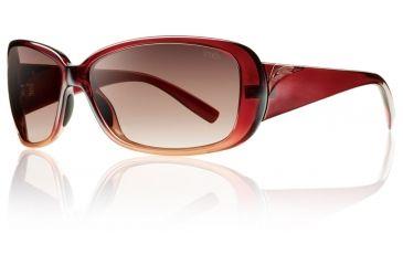 Smith Optics Womens Shorewood Sunglasses - Scarlet Fade Frame w/ Sienna Gradient Lens SOPCSNGSF