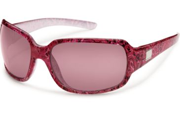 Suncloud Polarized Optics Cookie Sunglasses - Paisley Frame and Rose Polarized Polycarbonate Lens S-COPPRSPS