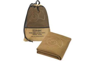 SnugPak Microfibre Antibacterial Travel Towel, Coyote, Large SP97340