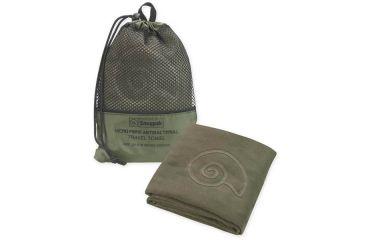 SnugPak Microfibre Antibacterial Travel Towel, Olive, Large SP97310