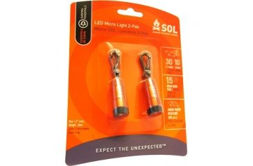 SOL LED Micro Light, Pack of 2 0140-0152