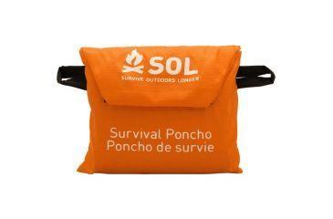 SOL Survival Poncho 0140-6000
