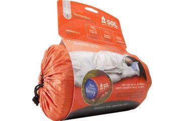 SOL Thermal Bivvy Heat Reflective Survival Sleeping Bag 0140-1223