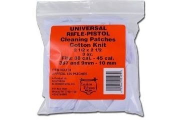 Southern Bloomer Universal Rifle/Handgun Cleaning Patches 130 Count 103