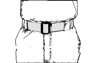 Spec-Ops Better BDU Belt (Reg.), 1.75 BK - Black