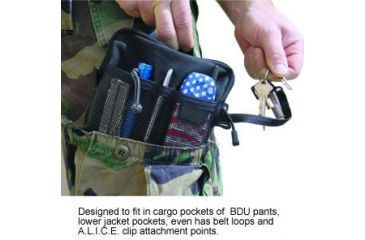 Spec Ops Dry-Cell On-Board BDU Cargo Pocket / Pack Waterproof Organizer