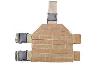 1-Specter Gear MOLLE/PALS Compatible Standard Format Tactical Thigh Rig