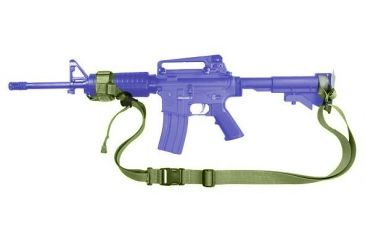 1-Specter Gear Two Point Tactical Slings for CAR-15 collapsible stock & standard hand guards with ERB, Ambidextrous