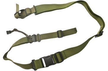 Specter Gear 2 Point Tactical Sling, M-4A1, Ambidextrous, w/ ERB - OD Green